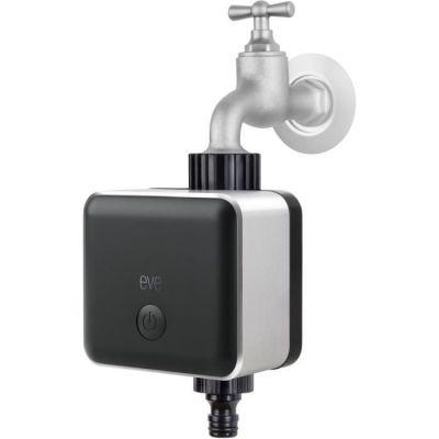 image Eve Aqua - Contrôleur d'eau intelligent pour Apple Home App ou Siri, irriguer automatiquement avec des programmes, facile à utiliser, accès à distance, pas de pont, Bluetooth, HomeKit