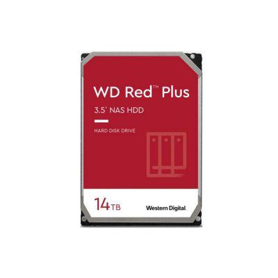 "image Western Digital WD Red Plus 3.5"" 14000 Go Série ATA III"