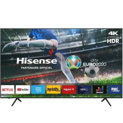 image HISENSE 75A7100F - TV LED UHD 4K - 75- (190cm) - Ecran sans bord - Smart TV - Dolby Audio - 3 x HDMI - 2 x USB