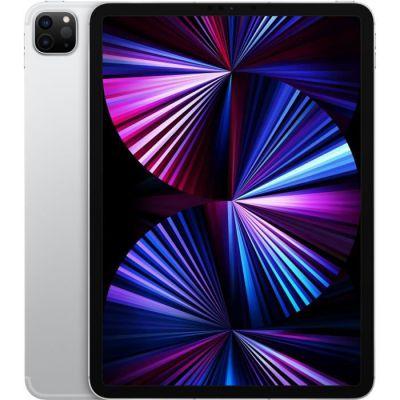image Apple iPad Pro 11 pouces (2021) WiFi + Cellulaire 5G - 2To - 256Go - Argent