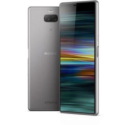 """image Sony Xperia 10 - Smartphone débloqué 4G (Ecran : 6"""" - 64 Go - Double Nano-SIM - Android) – Argent"""