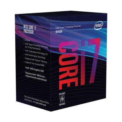 image Intel Core i78700 3.2GHz 12Mo Smart Cache Boîte processeur processeurs (up to 4.60 GHz), Intel Core i78xxx, 3,2 GHz, LGA 1151 (Socket H4), PC, 14 nm, i78700