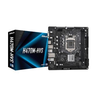 image ASRock H470M-HVS Intel H470 LGA 1200 Micro ATX