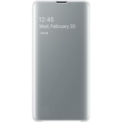 image Samsung S10 Clear View Cover White