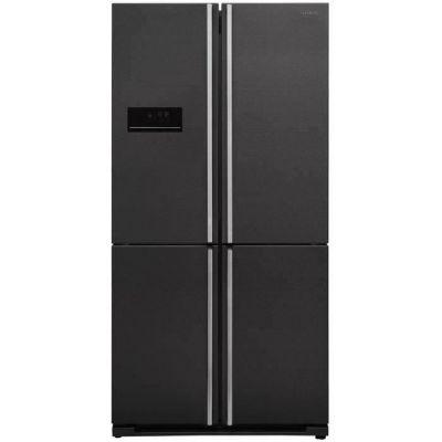 image SHARP Réfrigérateur 4 Portes, 588 L, Dark inox