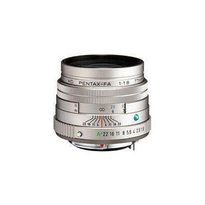 image Téléobjectif HD PENTAX-FA 77 mmF1.8 Limited Silver Limited, lentille primaire moyenne, revêtement HD haute performance, revêtement SP, diaphragme rond, corps en aluminium usiné