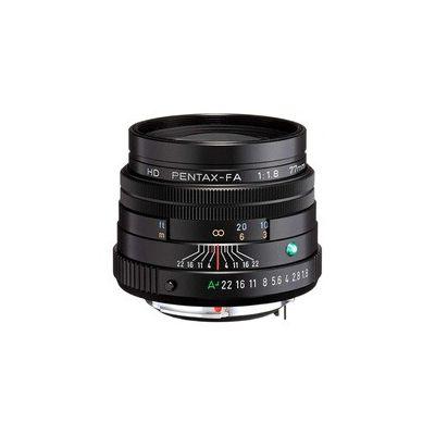 image Téléobjectif HD PENTAX-FA 77 mmF1.8 Limited Black Limited Medium Prim, revêtement HD haute performance, revêtement SP, diaphragme rond, corps en aluminium usiné