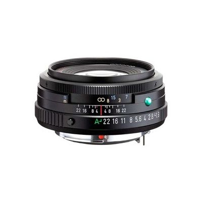 image Lentille HD PENTAX-FA 43 mmF1.9 Limited Black Limited, lentille primaire standard, revêtement HD haute performance, revêtement SP, diaphragme rond, corps en aluminium usiné