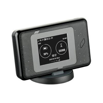 image D-Link DWR-2101 Hotspot Mobile 5G Wi-FI 6, Wi-FI Portable, Téléchargement Ultra Rapide jusqu'à 1,6 Gbps, AX1800 Wi-FI, Port Gigabit, Jusqu'à 14 Heures de Batterie, Écran Tactile Couleur