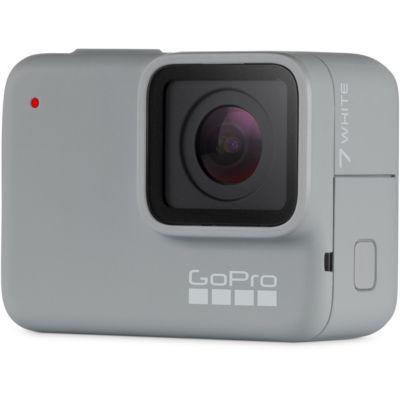 image GoPro HERO7 White - caméra d'action numérique imperméable avec écran tactile & carte mémoire SanDisk Ultra 128Go (100Mo/s)