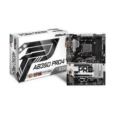 image ASRock AB350 PRO4/A/ASRK Carte mère Intel AMD b350 Socket Emplacement am4