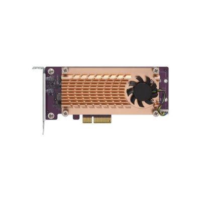 image QNAP QM2-2P-244A - Contrôleur de Stockage - PCIe Profil Bas - PCIe 2.0 x4