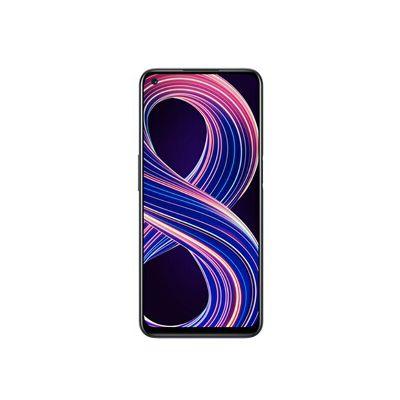 image realme 8 5G Telephone Portable, Smartphone Debloqué et Processeur Dimensity7005G, Écran ultra-fluide de 90Hz, Batterie massive de 5000mAh, Appareil photo Nightscape de 48MP, Dual Sim, NFC, 6+128GB