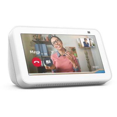 image Echo Show 5 (2e gén., modèle 2021) | Écran connecté avec Alexa et caméra 2 Mpx - Blanc