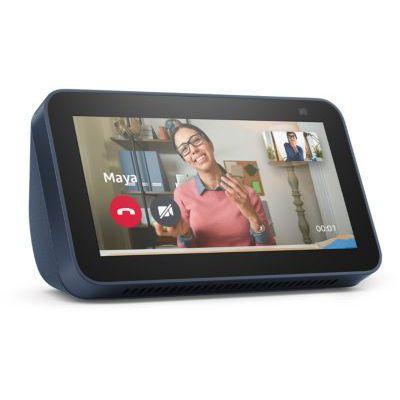 image Echo Show 5 (2e gén., modèle 2021) | Écran connecté avec Alexa et caméra 2 Mpx - Bleu