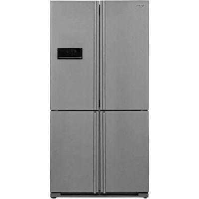 image SHARP Réfrigérateur 4 Portes, 588 L, Inox