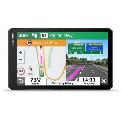 image Garmin dezl LGV700 MT-D EU - GPS Poids Lourds - 6.95 Pouces - Carte Europe 46 pays – Trafic intégré - Répertoire de services - Appels Mains Libres – Commande vocale