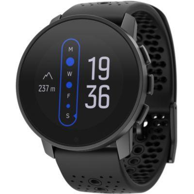 image Suunto 9 Peak Montre GPS avec Batterie Longue Durée et Mesure du Rythme Cardiaque au Poignet, Mixte Adulte, Noir, Taille Unique