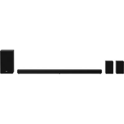 image Barre de Son LG SP11RA de 770W de Puissance 7.1.4 Canaux Son Hi-Res Audio, Dolby Atmos, DTS:X et HDMI eARC. Compatible avec Alexa