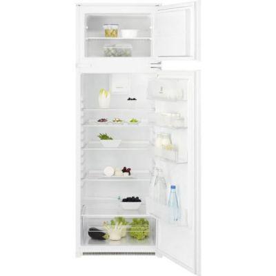 image ELECTROLUX KTB2DE16S - Réfrigérateur congélateur haut encastrable - 259L (209L+50L) - Froid Brassé - L55 x H164cm - Blanc