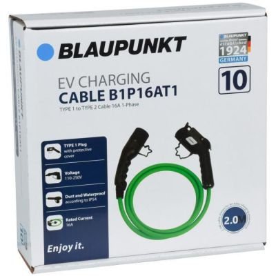 image CABLE CHARGE VEHICULE ELECTRIQUE T1->T2 B1P16AT1 N°10 BLAUPUNKT