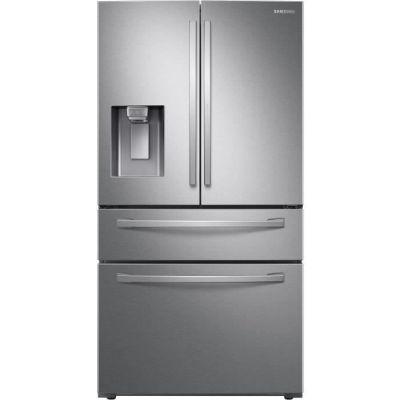 image SAMSUNG - RF22R7351SR- Réfrigérateur multi portes French Door - 501L (339L + 123L + 39L) - Froid Ventilé Plus - A+ - L90,8cm x H177,7cm - Inox