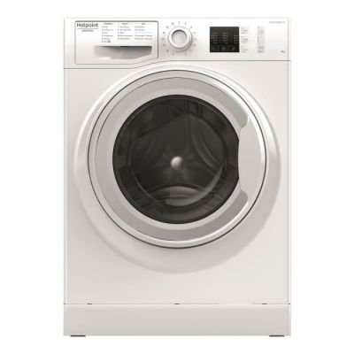 image produit HOTPOINT NM10823WFR - Lave-linge frontal - 8 kg - 1200 tours / min - A+++ - Blanc - Moteur Induction