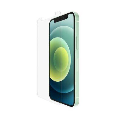 image Belkin Protection d'Écran Antimicrobienne UltraGlass pour iPhone 12 Pro Max (protection ultime, réduction de la prolifération des bactéries jusqu'à 99 %)