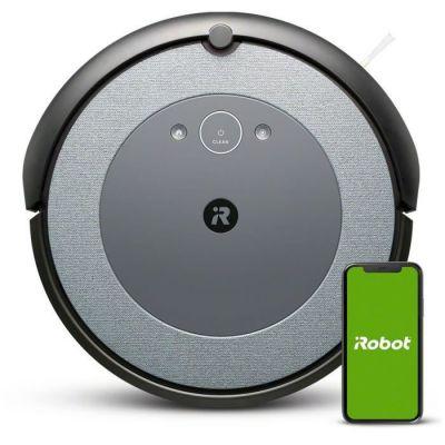 image iRobot Roomba i3152 - Aspirateur robot - Bac 0,4L - Batterie Lithium-iOn - Capteurs Dirt Detect - iRobot Home