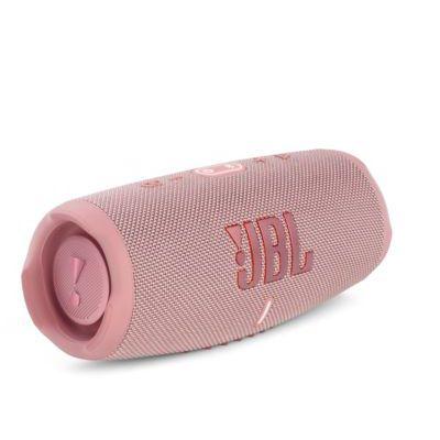 image JBL Charge 5 – Enceinte portable Bluetooth avec chargeur intégré – Son puissant et basses profondes – Autonomie de 20 hrs – Etanche à l'eau et à la poussière – Rose