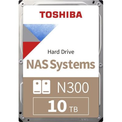 """image 10 To Toshiba N300, HDD 3.5 """"haute fiabilité, SATA III - 6Gb/ s, 7200 tr/ min, 256 Mo de cache"""