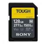 image produit Carte SD Sony UHS-II M Tough series 256 Go