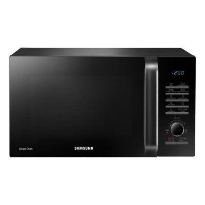 image SAMSUNG MC28H5125AK - Four micro-ondes multifonction - 28L - 900 W - Grill 1500 W - Chaleur tournante 2100 W - Noir