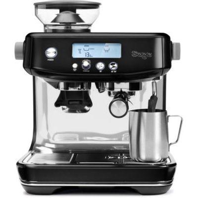 image Sage Appliances SES878 the Barista Pro, Machine à Porte-Filtre, Black Stainless