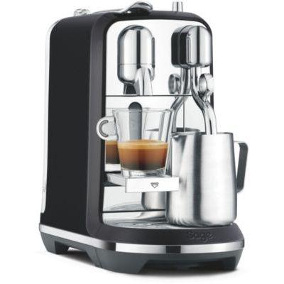 image Sage Appliances Nespresso Creatista Plus Cafetière Noire SNE800BTR