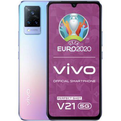 image Smartphone Vivo V21 Bleu Clair 5G