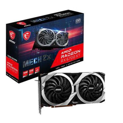image MSI Radeon RX 6700 XT Mech 2X 12G OC AMD 12 Go GDDR6