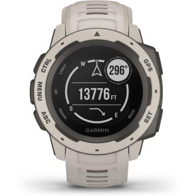 image Garmin Instinct - Montre GPS fiable et robuste pour les activités outdoor - Blanc