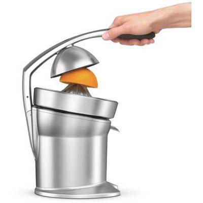 image SAGE SCP800 the Citrus Press Pro Presse Agrumes Électrique avec système anti-goutte pratique, Acier inoxydable brossé