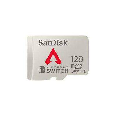 image Carte microSDXC SanDisk 128Go Apex Legends pour Nintendo Switch, Carte mémoire sous Licence Nintendo