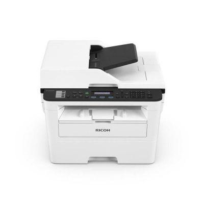 image Ricoh SP 230SFNw - Imprimante Multifonctions - Noir et Blanc - Laser - A4 (210 x 297 mm) (Original) - A4 (Support) - jusqu'à 30 ppm (Copie) - jusqu'à 30 ppm (Impression) - 250 Feuilles - 33.6 Kbits/s