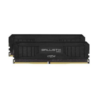 image Crucial Ballistix MAX BLM2K16G40C18U4B 4000 MHz, DDR4, DRAM, Mémoire Kit pour PC de Gamer, 32Go (16Go x2), CL18, Noir