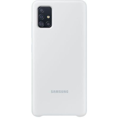 image Samsung Coque Silicone G A51 Blanc