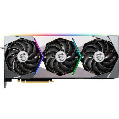 image MSI GeForce RTX 3080 Ti SUPRIM X 12G NVIDIA 12 Go GDDR6X