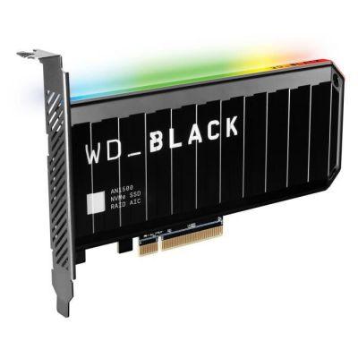 image WD_BLACK AN1500 1To NVMe SSD Carte d'extension, Vitesse de Lecture Jusqu'à 6500Mo/s et Vitesse d'écriture Jusqu'à 4100Mo/s