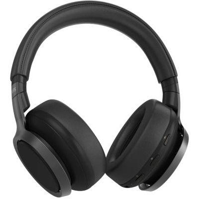 image Casque D'Écoute sans Fil Philips TAH9505BK/00 Over Ear, Casque À Réduction Active du Bruit, Noise Cancellation Pro, avec Double Micro, Bluetooth, 27 Heures De Lecture, Noir