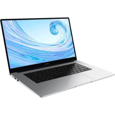 image HUAWEI MateBook D 15 2020 PC Portable 15.6'' 1080p FHD (Intel Core i3-10110U, RAM 8Go, SSD 256Go, Windows 10 Home, Clavier Français AZERTY), Argent