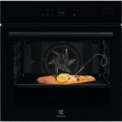 image ELECTROLUX EOB8S39WZ - Four encastrable Série 800 Pro - Chaleur tournante pulsée - 70L - Classe A+ - Noir