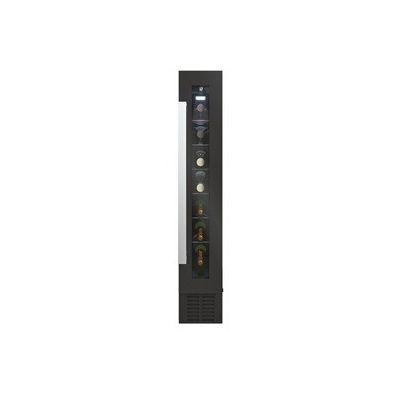 image Candy CCVB 15/1 Vinothèque intégré, 7 bouteilles, anti-UV, compresseur anti-vibrations, lumière LED intérieure, 39 dBA, noir