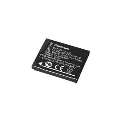 image Panasonic Lumix DMW-BCL7E Batterie rechargeable 3.6V,680mAh, 2.5Wh pour Lumix SZ10 - Noir